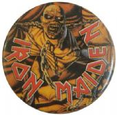 Iron Maiden - 'Piece of Mind' Vintage 32mm Badge